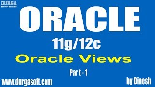 Oracle   Views Part -1 by Dinesh