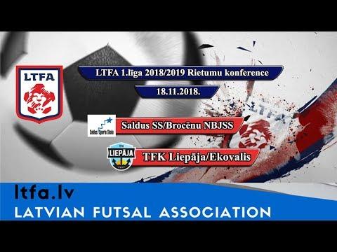 Saldus SS/Brocēnu NBJSS - TFK Liepāja/Ekovalis [LTFA 1.LĪGA 2018/19 Highlights]