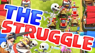 Clash Royale - The STRUGGLE - Stop #CHESTLOCK - Let's Play #6