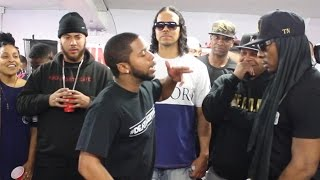Trigaaah vs Da Kid Clutch AHAT Rap Battle - Las Vegas vs Carson California