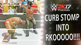 WWE 2K17 Recreating Randy Orton vs Seth Rollins WrestleMania 31 Match w/ CURB STOMP INTO RKO