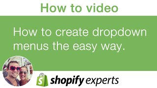 How to create dropdown menus in your Shopify store the easy way