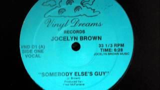Jocelyn Brown - Somebody Else´s Guy Original 12 inch Version 1984.