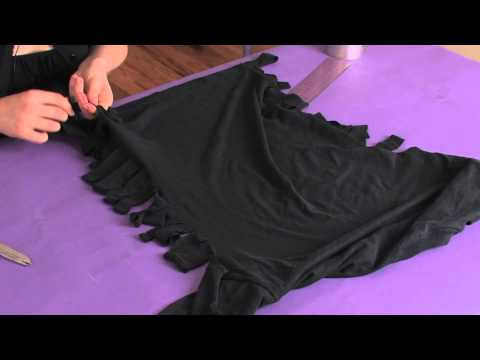 Xxx Mp4 How To Restyle Your Big Old T Shirts With A Fringe On The Side Shirt Modifications 3gp Sex