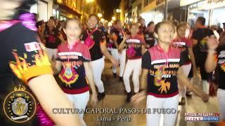 PASOS DE FUEGO CANDELARIA 2018 LIMA PERU