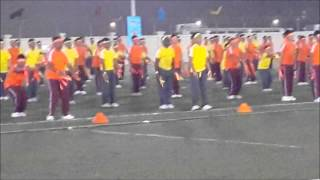 Ideal Indian School Annual Sports Day 2014 Mass Drill Boys Section