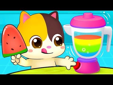 Xxx Mp4 Rainbow Ice Pop Colors Song Vegetables Song Learn Colors Nursery Rhymes Kids Songs BabyBus 3gp Sex