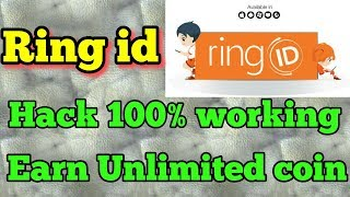 Ring id hack 100% working. unlimited recharge...