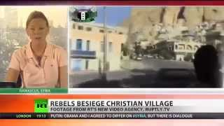 Christians in Syria being killed by Rebels Soldiers