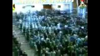 تواضع صدام حسين في مقر الحزب