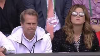 2015 - Wimbledon - Finale - Novak Djokovic b Roger Federer 7/6(1) - (10)6/7 - 6/4 - 6/3
