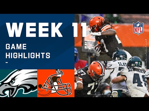 Eagles vs. Browns Week 11 Highlights NFL 2020