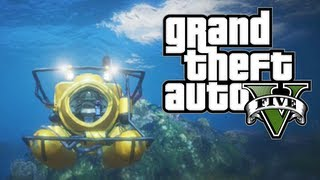 GTA V - How To Unlock Submarine & Scuba Suit + Make $690000 CASH in Grand Theft Auto V (GTA 5)
