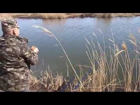 по маленьким речкам с удочкой весной