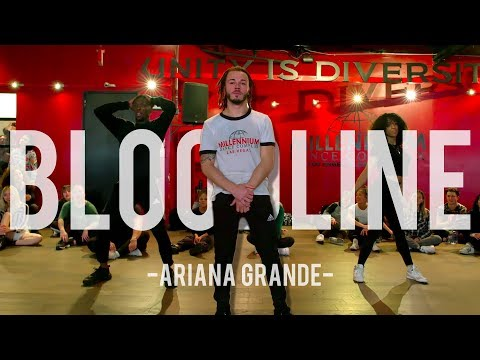 Ariana Grande Bloodline Hamilton Evans Choreography