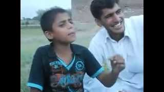 funny clip 2014  punjubi mahya pakistani childran