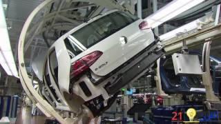 من داخل شركة فولكس فاكن Volkswagen.  أمام أعينكم يصنع غولف 7 Golf