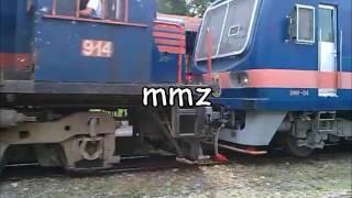 PNR DEL 914 hauling DMU 06 passing Sta. Mesa Station