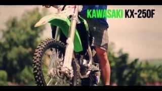 Kenneth San Andres KX 250F -Kawasaki Philippines