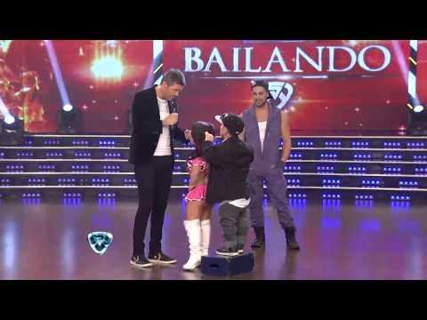 Noelia Pompa y Maldito Peke en Showmatch 2014