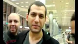 لحظه وصول مراد يلدريم الى مصر