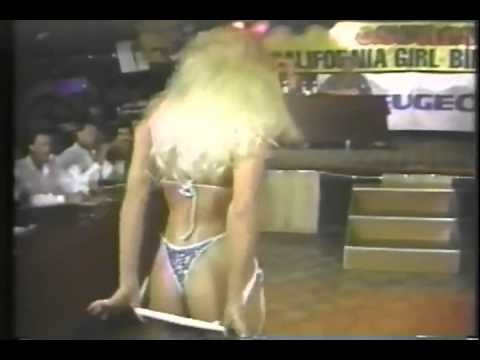 Laura Ingraham bikini contest from the 80 s a must see