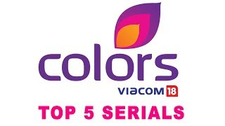 Top 5 Colors Most Popular TV serials by TRP