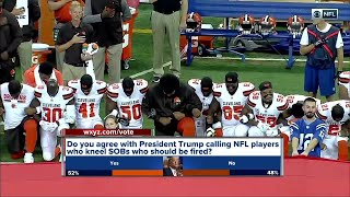 Metro Detroit veterans, civil rights leaders react to NFL kneeling controversy