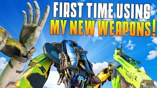 FIRST TIME USING THE NAIL GUN, D13 SECTOR, AND ARM! (Black Ops 3 Funny Moments) - MatMicMar