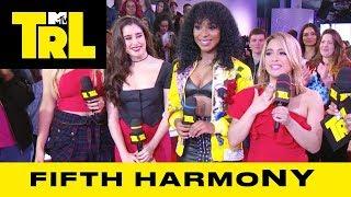 Fifth Harmony Talk Collabing w/ Pitbull & Touring   Weekdays at 3:30pm   #TRL