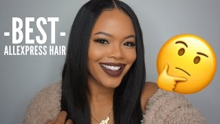 THE BEST AFFORDABLE ALIEXPRESS HAIR?? VIPBeauty hair