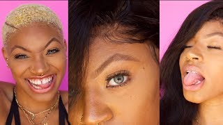 Lets See if this keeps my wig from Flying off my BALD HEAD | GLAM FORCE GEL