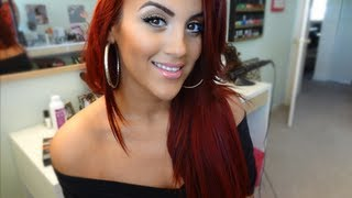 HOW I: Refresh My Red ( Root Touchup) + Red Hair Update