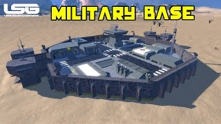 Space Engineers - Octagon Military Base
