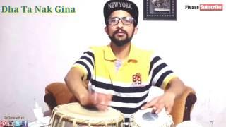 Learn Doogun(Fast kherwa) | Tabla Lesson 1 For Beginners