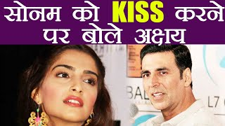 Akshay Kumar REACTS on KISSING Sonam Kapoor in Padman | FilmiBeat