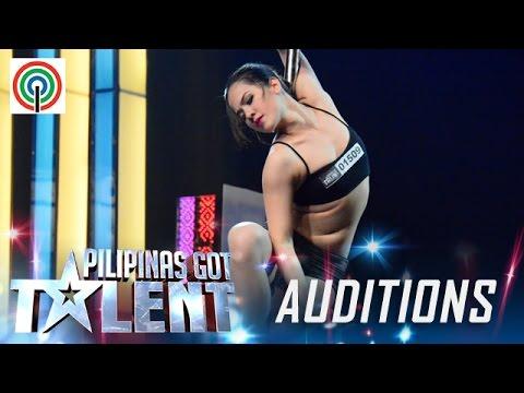 Pilipinas Got Talent Season 5 Auditions Celine Venayo Pole Dancer