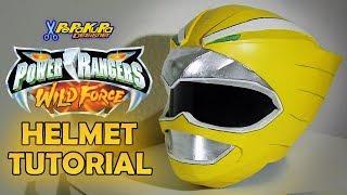 Power Rangers Wild Force Helmet Tutorial