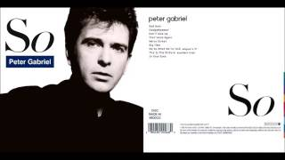 Peter Gabriel - So   Full album