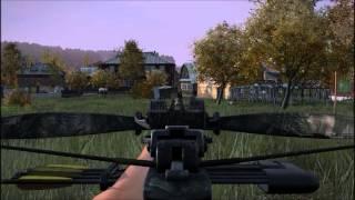 DayZ Crossbow Zombie takedown