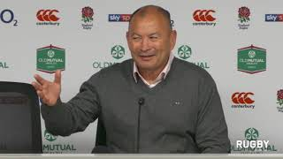 Full post match press conference: England