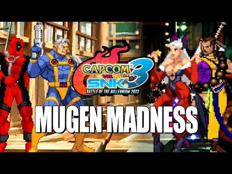MUGEN MADNESS Marvel & Capcom Masters Edition Capcom Vs. SNK Ultimate Build