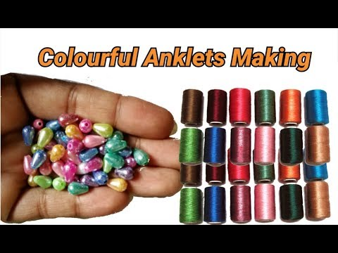 Xxx Mp4 Colourful Anklets Cum Necklace Making With Easy Method 3gp Sex