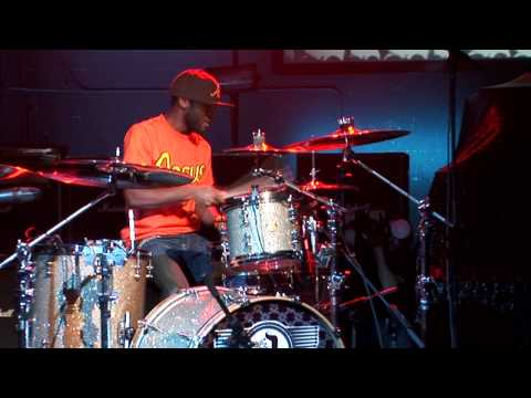 Jerome Flood II Guitar Center s 20th annual Drum Off Champion 2008