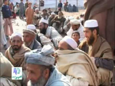 Tribal Refugees In Jalozai Camp (Khyber News)