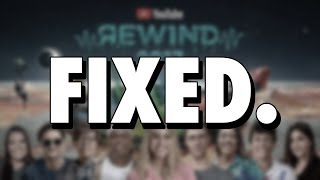 I fixed YouTube Rewind