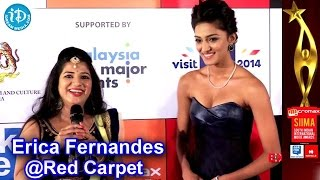 Erica Fernandes at SIIMA Awards 2014 Red Carpet, Malaysia