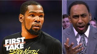 'I am officially concerned about the Warriors' - Stephen A.   First Take
