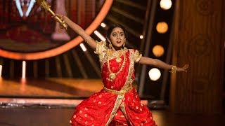 D4 Junior Vs Senior I Esha as Rajmata Shivgami I Mazhavil Manorama