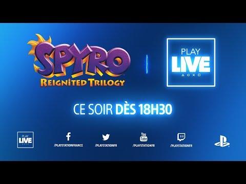 Xxx Mp4 PlayLIVE Sur Spyro Reignited Trilogy Avec Salomé Et Trinity 3gp Sex